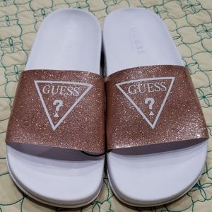 New Guess slippers